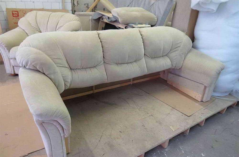 тканевый диван до перетяжки