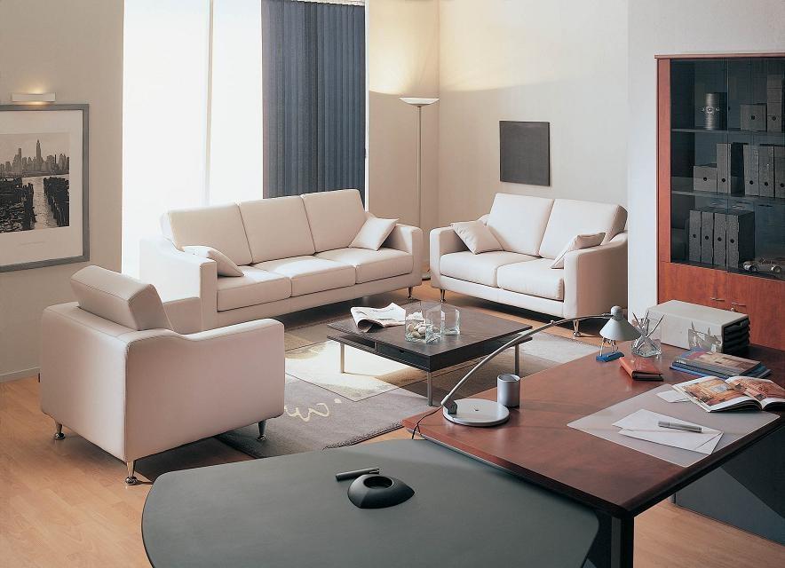 Мягкая офисная мебель: дизайн и выбор