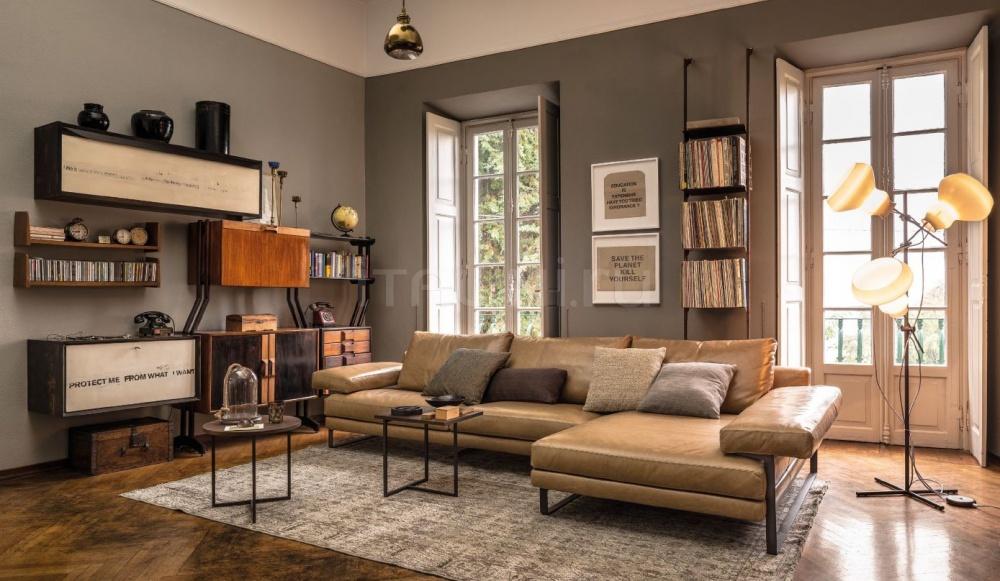Модульный диван в дизайне гостиной